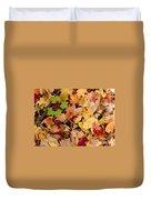 Fall Maples Duvet Cover
