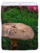 Fall Mushrooms Duvet Cover