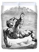 Fall Of Icarus Duvet Cover