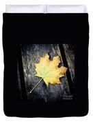 Fall Of The Leaf Duvet Cover