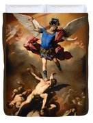 Fall Of The Rebel Angels Duvet Cover