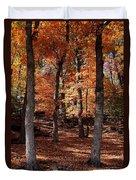 Fall On A Stump Duvet Cover