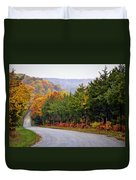 Fall On Fox Hollow Road Duvet Cover