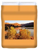Fall On The Colorado Duvet Cover