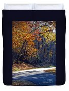 Fall On The Parkway Duvet Cover