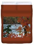 Fall On The Shetucket Duvet Cover