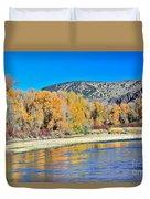 Fall On The Snake River Duvet Cover