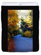 Fall Path Duvet Cover