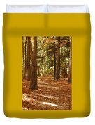 Fall Pathway Duvet Cover