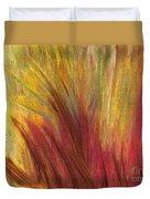 Fall Prairie Grass By Jrr Duvet Cover by First Star Art