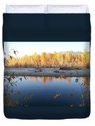 Fall Reflection 2 Duvet Cover