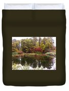 Fall Reflection And Colors Duvet Cover