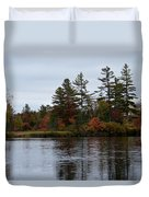 Fall River Colors Duvet Cover
