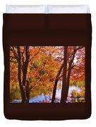 Fall River Nova Scotia Duvet Cover