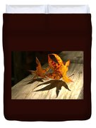 Fall Shadow Landscape Duvet Cover