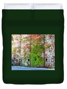 Fall Silos Duvet Cover
