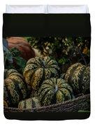 Fall Squash Harvest Duvet Cover