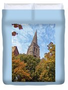 Fall Steeple Duvet Cover