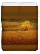 Fall Tree And Field #1 Duvet Cover