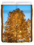 Fall Tree Duvet Cover by Parker Cunningham