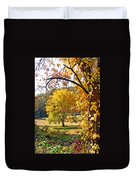 Fall Trees 4 Of Wnc Duvet Cover