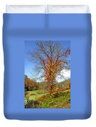 Fall Trees 5 Of Wnc Duvet Cover