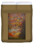 Fall Tunnel Duvet Cover