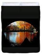Fall Under The Bridge Duvet Cover
