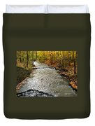 Fall Waters Duvet Cover
