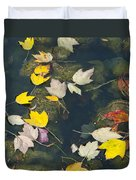 Fallen Leaves 2 Duvet Cover