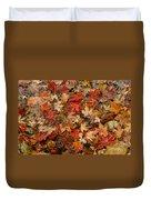 Fallen Leaves Duvet Cover