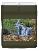 Falling From Mount Mitchell Duvet Cover
