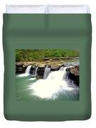 Falling Waters Falls 4 Duvet Cover