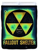 Fallout Shelter Abstract 2 Duvet Cover