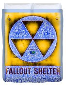 Fallout Shelter Abstract 4 Duvet Cover