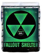 Fallout Shelter Wall 1 Duvet Cover