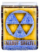 Fallout Shelter Wall 3 Duvet Cover