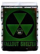 Fallout Shelter Wall 4 Duvet Cover