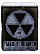 Fallout Shelter Wall 5 Duvet Cover