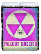 Fallout Shelter Wall 6 Duvet Cover