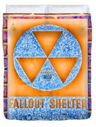 Fallout Shelter Wall 7 Duvet Cover