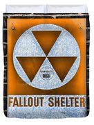 Fallout Shelter Wall 8 Duvet Cover
