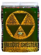 Fallout Shelter Wall 9 Duvet Cover