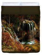 Falls At Hanging Lake Duvet Cover