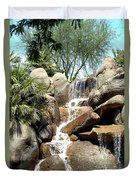 Falls At Jackalope Ranch 2 Duvet Cover
