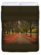 Fall's Driveway Duvet Cover