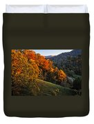 Fall's Mountainside Cascade Duvet Cover