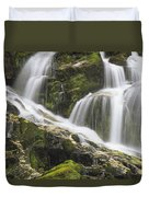 Falls On Sauk River Washington Duvet Cover