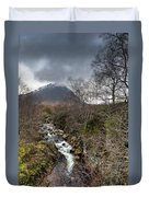 Falls On The River Coupall Duvet Cover