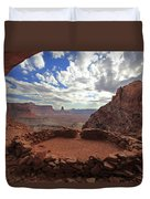 False Kiva Duvet Cover